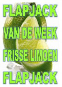 flapjack van de week limoen