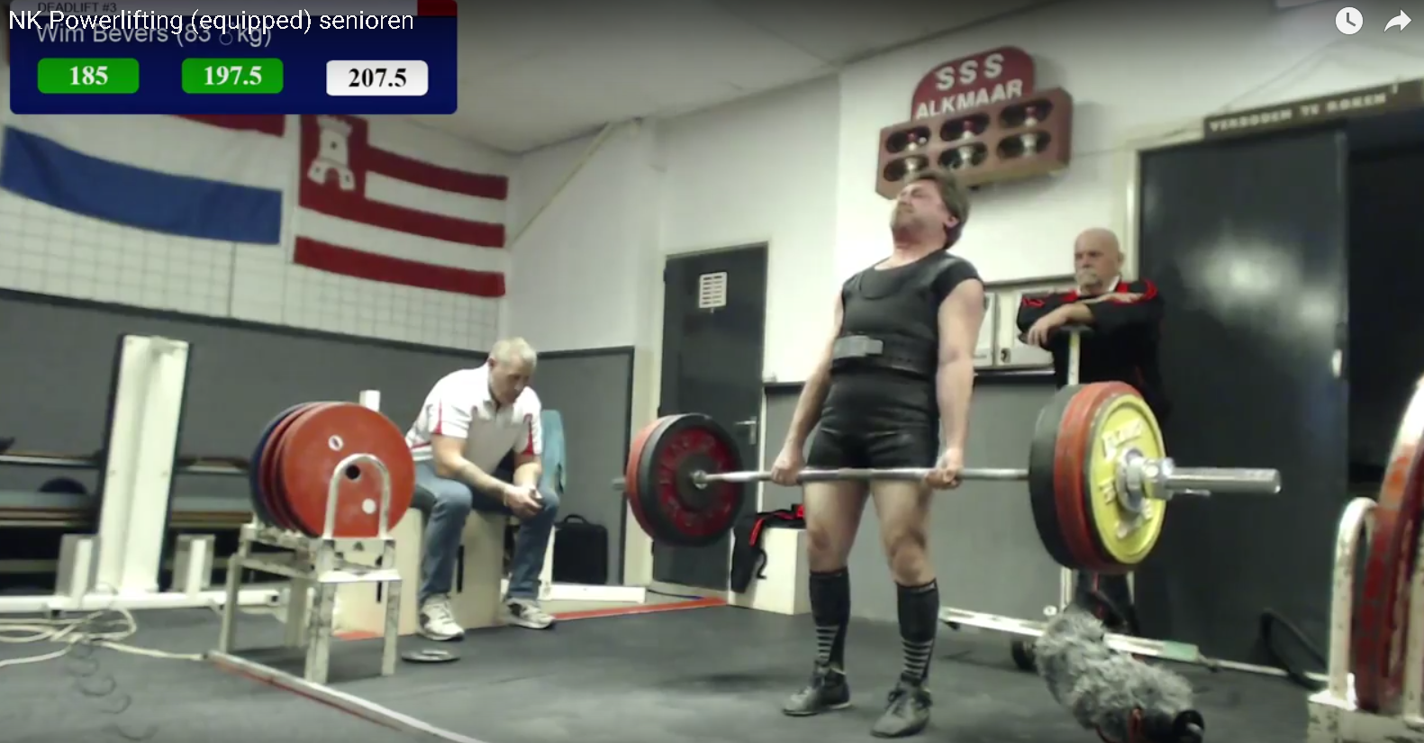 nederlands kampioen powerlifting