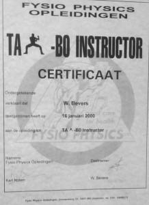taibo instructor